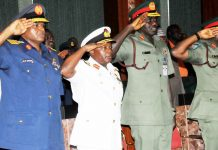 Buhari sacks service chiefs