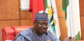 Lawan asks Nigerians to vote out non-performing senators