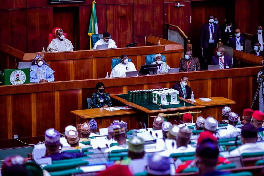 joint session of the NASS for 2021 budget presentation