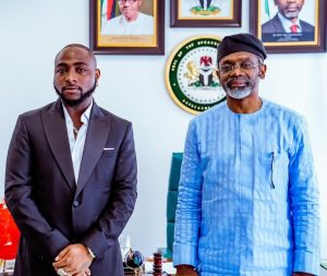 Music sensation, Davido in a meeting with Speaker Gbajabiamila on #EndSARS