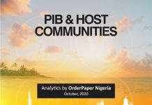 Analytical breakdown of the PIB by OrderPaper Nigeria