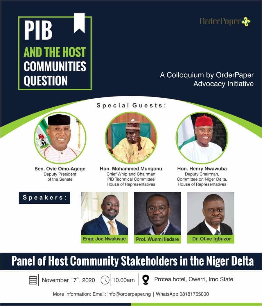 Host communities ownership question unresolved by PIB