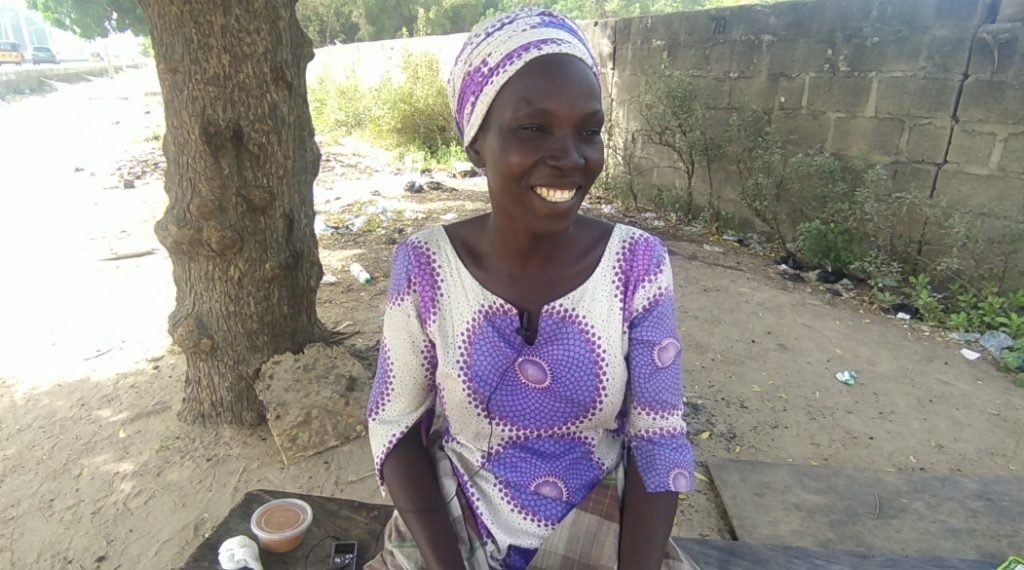 Ruth is of the IDPs camp in Borno