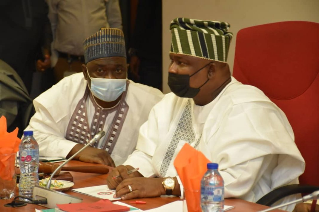 Senators at the screening of fiscal commission nominee